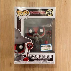 Wizard Deadpool Funko Pop